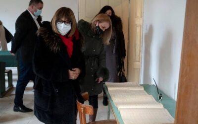 Министар културе посетила најстарију школу у шумадијском крају